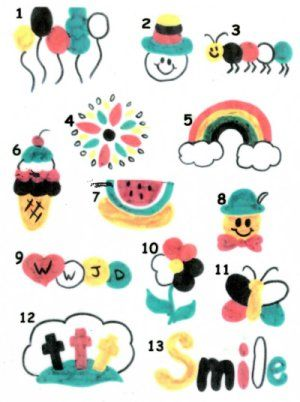Face Painting Pictures using the wordless book for ...