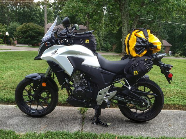 K Ray S 2014 Honda Cb500x Fantastic Buildup Thread Advrider Motorcycle Camping Adventure Motorcycle Camping Motorcycle Camping Gear