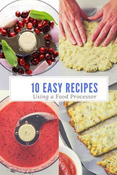 10 easy recipes to make using a food processor easy food and recipes 10 easy recipes to make using a food processor forumfinder Choice Image