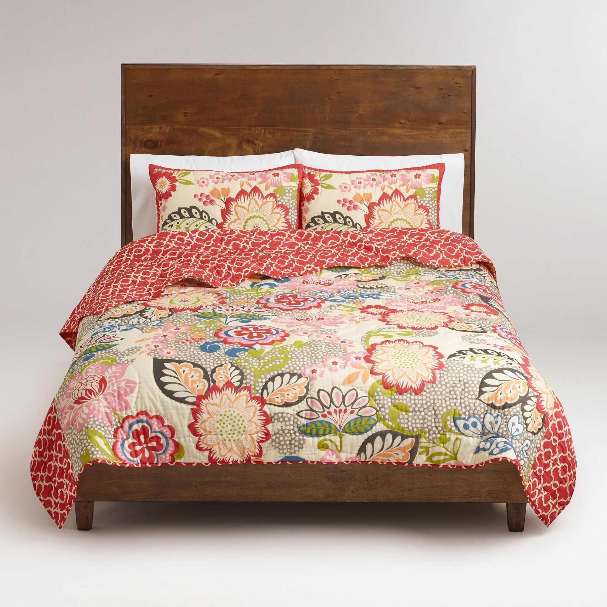 floral and geometric darby bedding collection world market