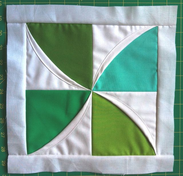 Little Spinner Block Quilting Gabarit Couture Cath 233 Drale