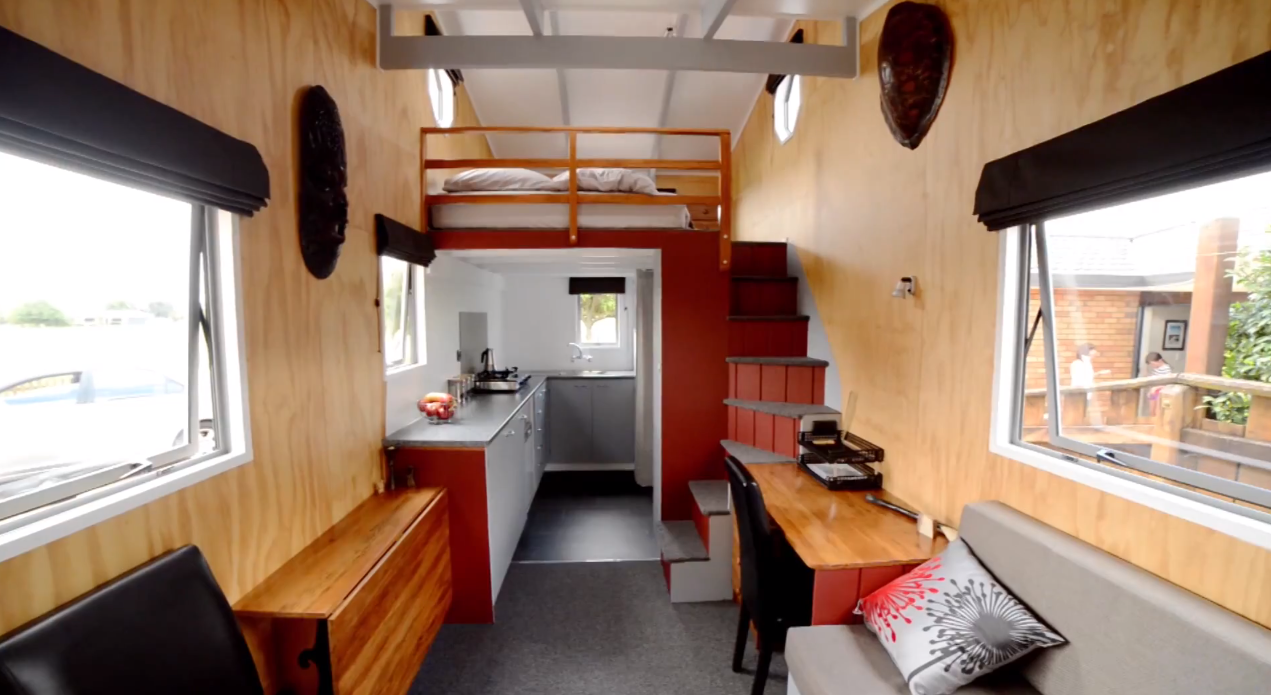 Tiny Home Designs: Brett's Off-Grid Tiny House