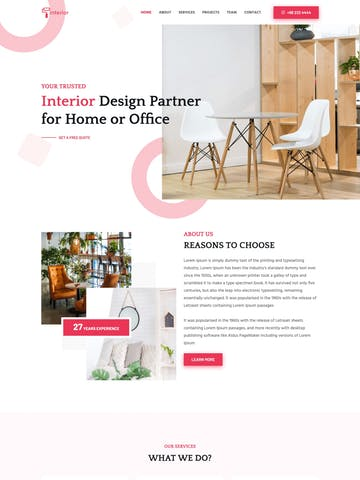 25 Best one page html template for June 2020