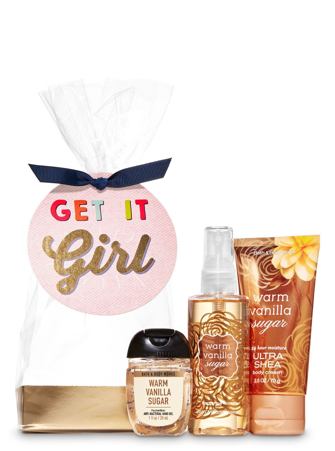 Warm Vanilla Sugar Get It Girl Mini Gift Set With Images Gift