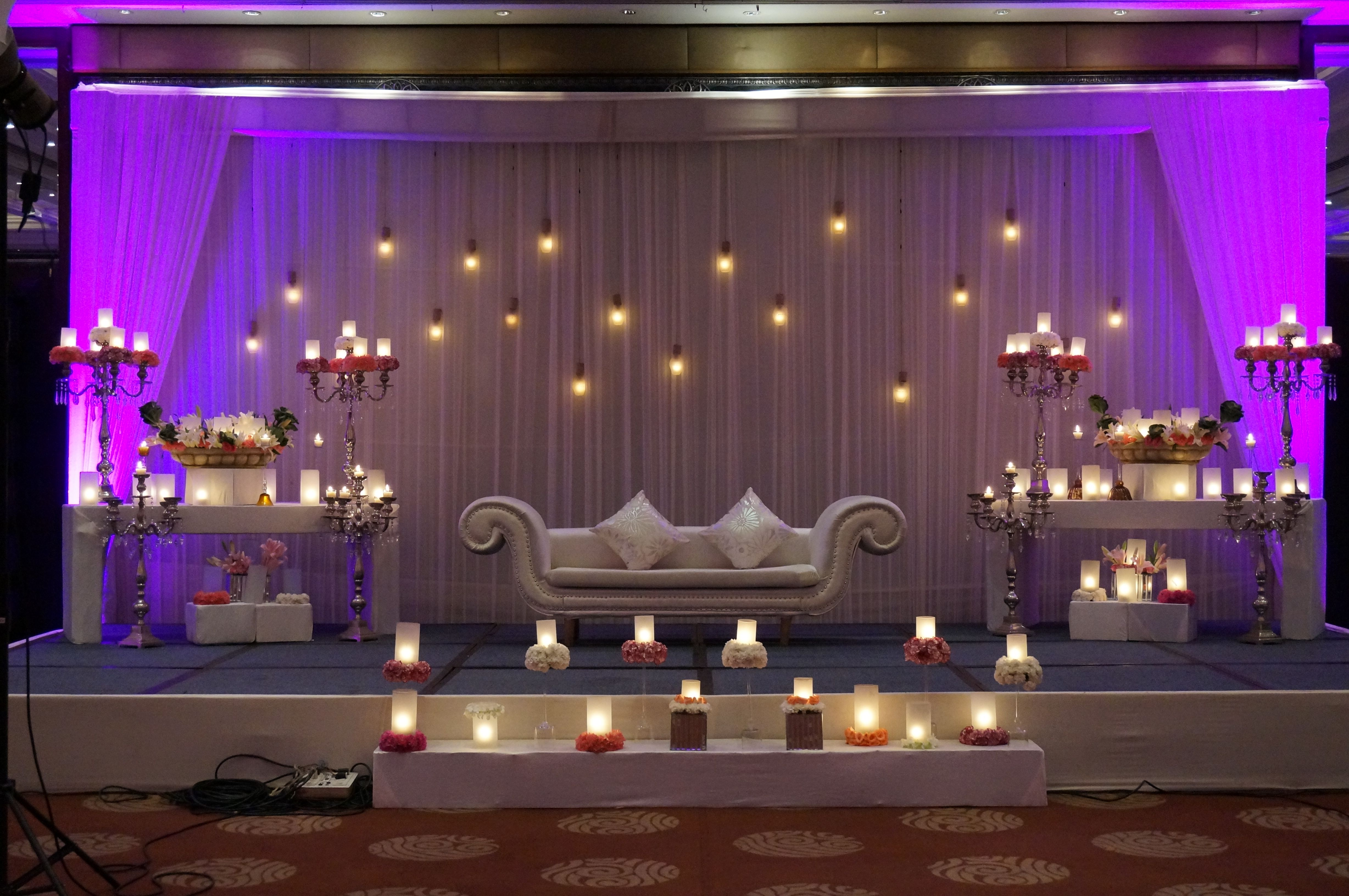 Unique wedding stage decoration ideas  Marriage Makerz the effortlessly stylish and extraordinary wedding