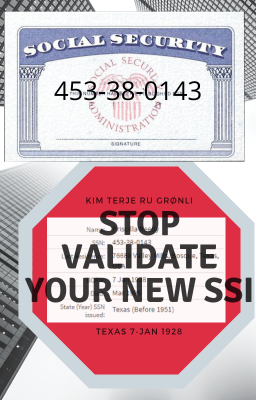 An Safe Synthetic Identity As Described And 2ssn Defined Below 2ssn Is Not In Conflict With Any Of The Guidelines Described By The Ssa Authorized Alternativ Money Template Templates Printable Free