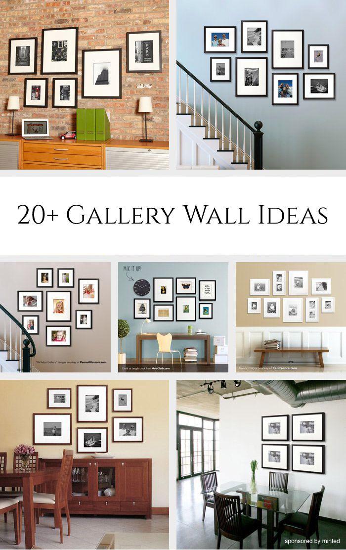 20 Gallery Wall Ideas Gallery Wall Gallery Wall Layout Photo