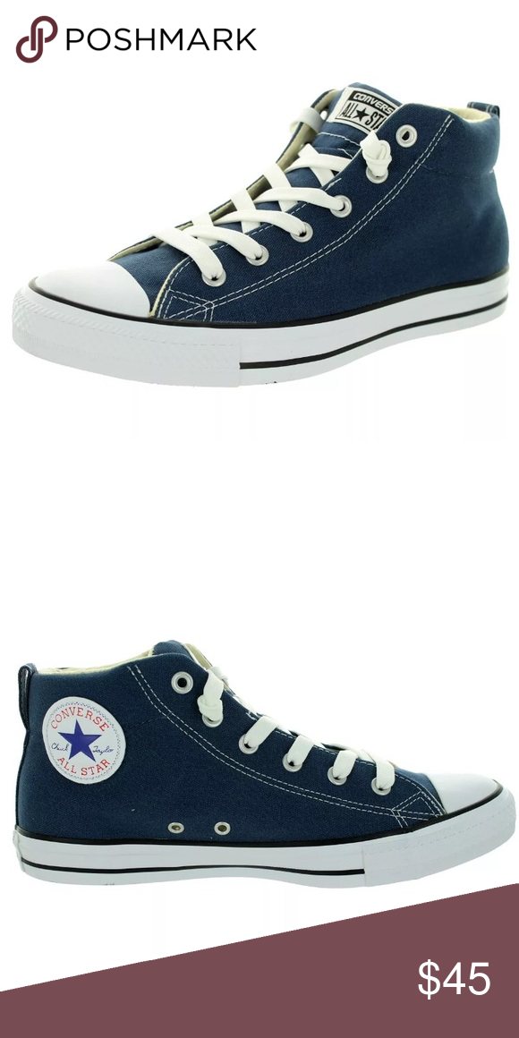 630715f2a342 Converse All Star CT Street Mid Navy Mens Sz 10NIB Brand new in box! Converse  Shoes Sneakers