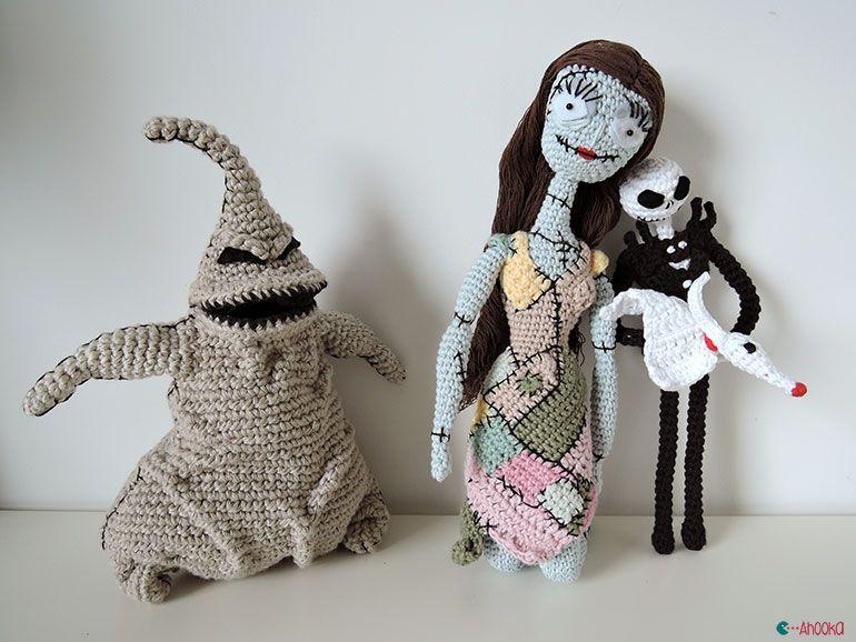 pas d 39 halloween sans tim burton crochet amigurumi par ahooka mon crochet et moi board en. Black Bedroom Furniture Sets. Home Design Ideas