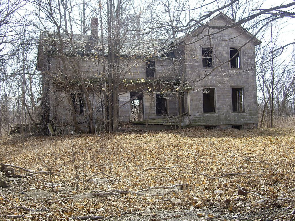 45 Litchfield - Abandoned Farmhouse  by Rural Michigan Architecture