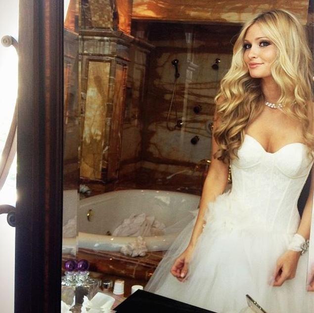 Celebrity Wedding Singers: Lauren Parsekian Wedding Dress - Google Search