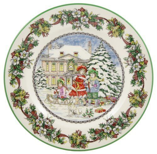 Spode Christmas Tree History: Spode Christmas Tree Annual 4th And Final In Series