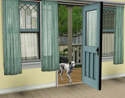 Found Nice Sheer Curtains For The Sims 3 By Pocci