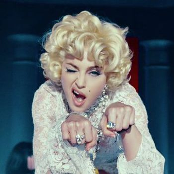 """madonna in """"Give Me All Your Luvin"""" video"""