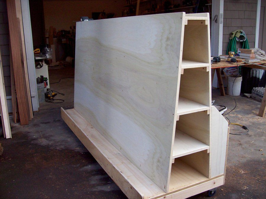 Lumber Cart By J Lumberjocks Com Woodworking
