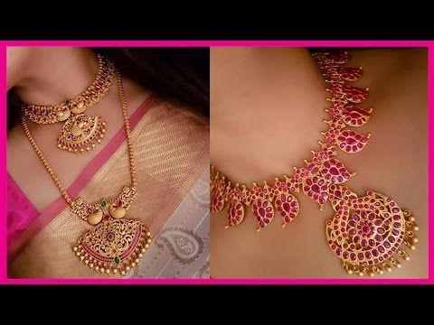 Top 10 Bridal Necklace Set Collections Bridal Necklace Sets Youtube Gold Wedding Jewelry Online Gold Jewellery Bridal Necklace Set