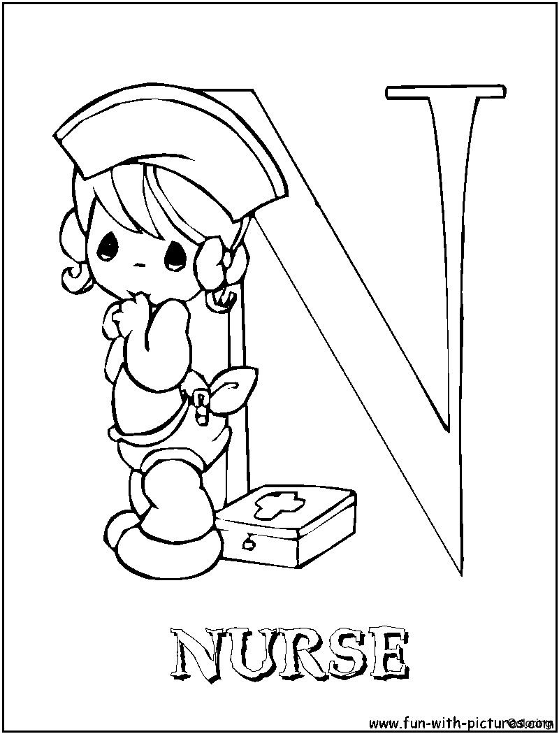 Best Of Nurse Coloring Page Collection Printable Coloring Sheet