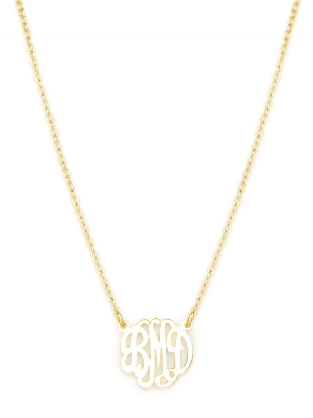 Mini Monogram Necklace Have Been