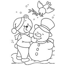 Top 10 Free Printable January Coloring Pages Online Coloring Pages Winter Snowman Coloring Pages Christmas Coloring Pages