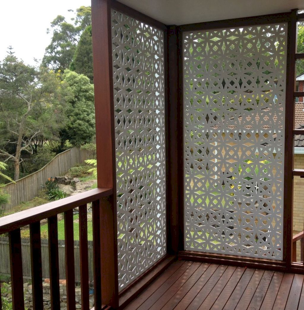 Affordable backyard privacy fence design ideas (19 | Privacy fence ...