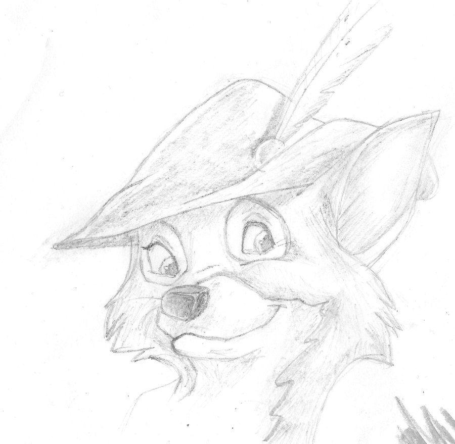 Robin Hood Drawing Disney images   Drawings   Pinterest ...