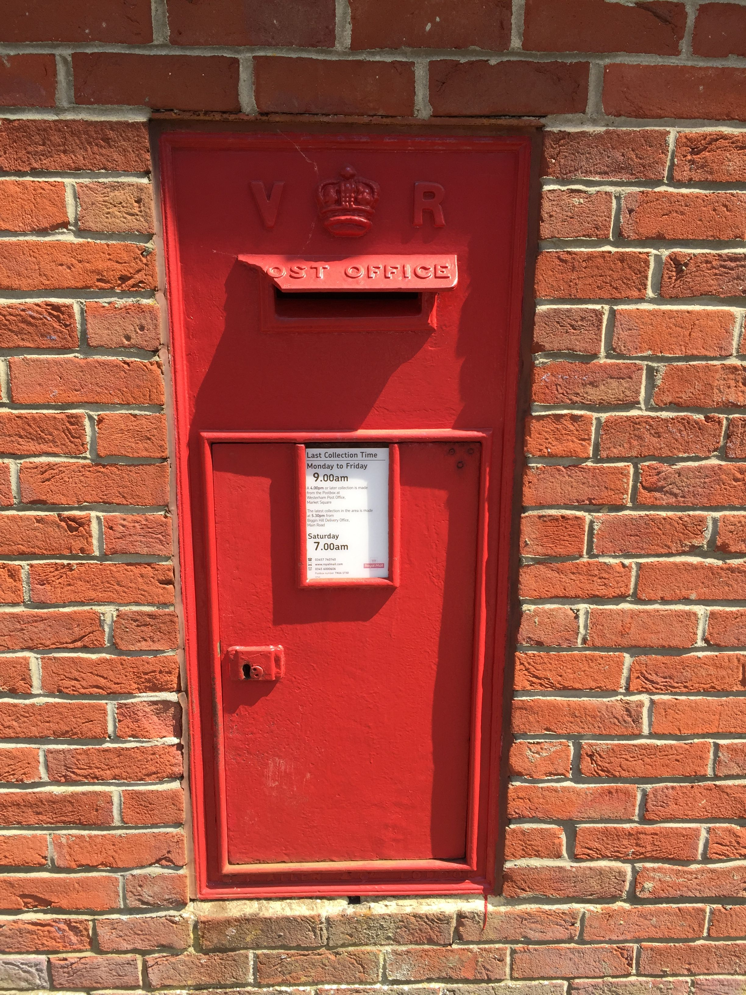 Victoria Wall Box Westerham Antique Mailbox Wall Boxes Bottle Opener Wall