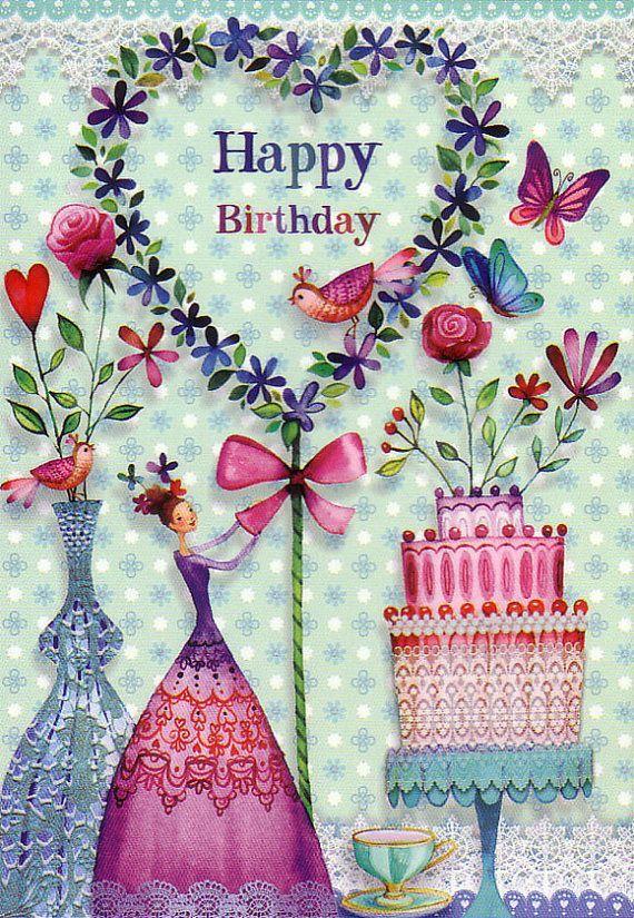 Pin De Nata Stolpova En Devochkovoe Pinterest Happy Birthday