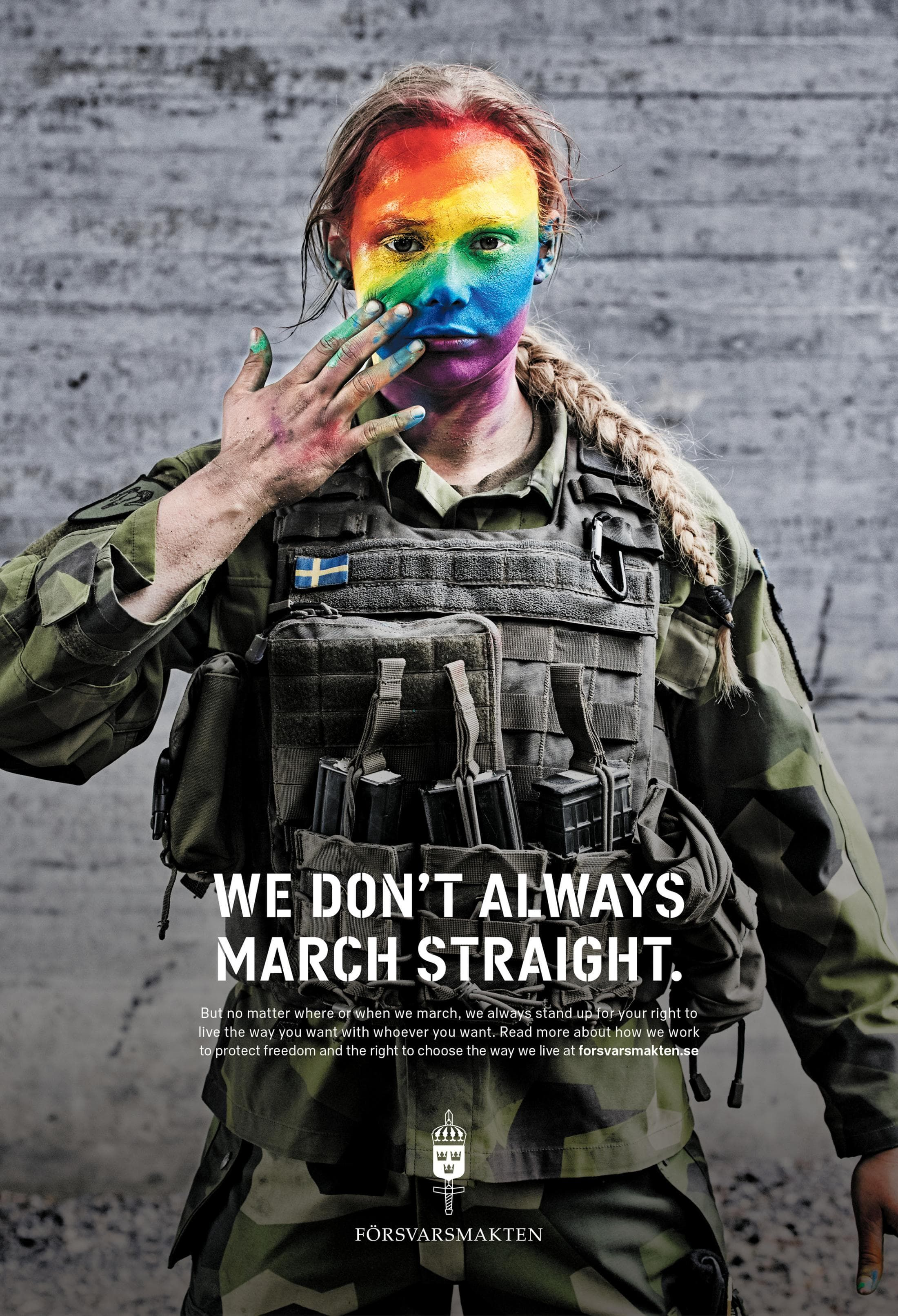Image result for poster women swedish military