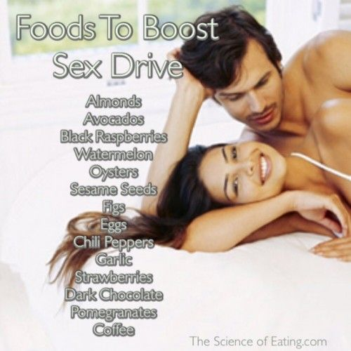 Foods that increase your sex drive