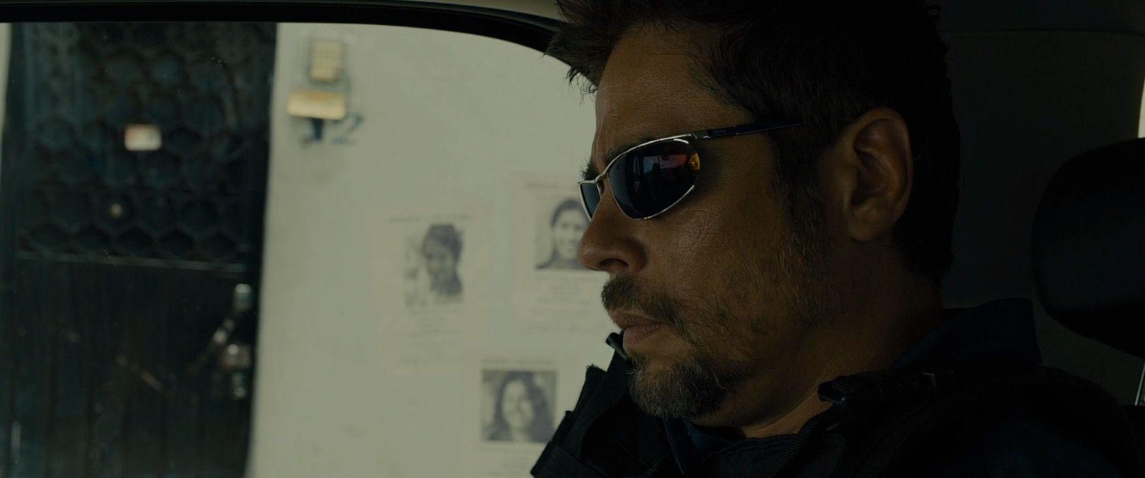 Del Benicio Sicario2015 Sunglasses Toro Izod By In Worn wOknX08P