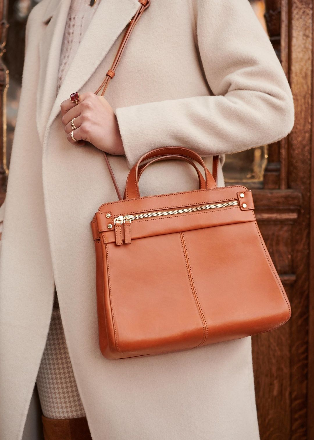 87e9c3b44 Sézane - Small Sam bag | Fashion in 2019 | Fashion, Bags, Tan bag