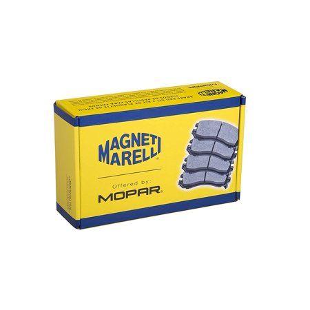 Magneti Marelli by Mopar 2AMV3494AA Front Brake Pad Set, 2