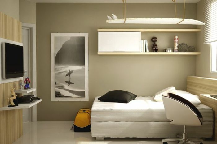 kleines schlafzimmer einrichten 55 stilvolle wohnideen kleines schlafzimmer einrichten. Black Bedroom Furniture Sets. Home Design Ideas