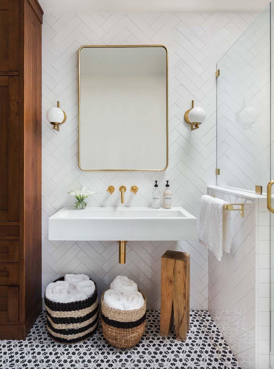 10 Unglaublich stilvolle Schwarz-Weiß-Badezimmer Ideen zu