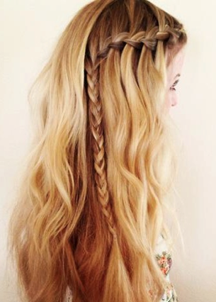 Brilliant Front Braid Detail Glamour Pinterest Wedding Your Hair And Hairstyle Inspiration Daily Dogsangcom