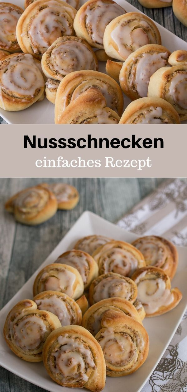 Photo of Mini Nut Snail Recipe – MakeItSweet.de