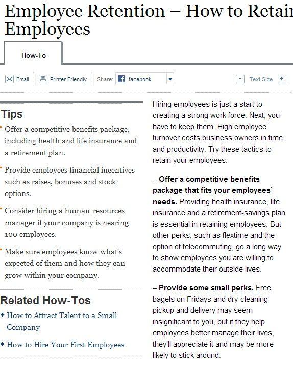 Employee Retention Wsj Employee Retention Employee Hiring
