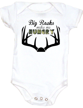 Hunting baby baby hunter funny baby onesie unique baby shower hunting baby baby hunter funny baby onesie unique baby shower gifts bad ass baby clothes geeky negle Gallery