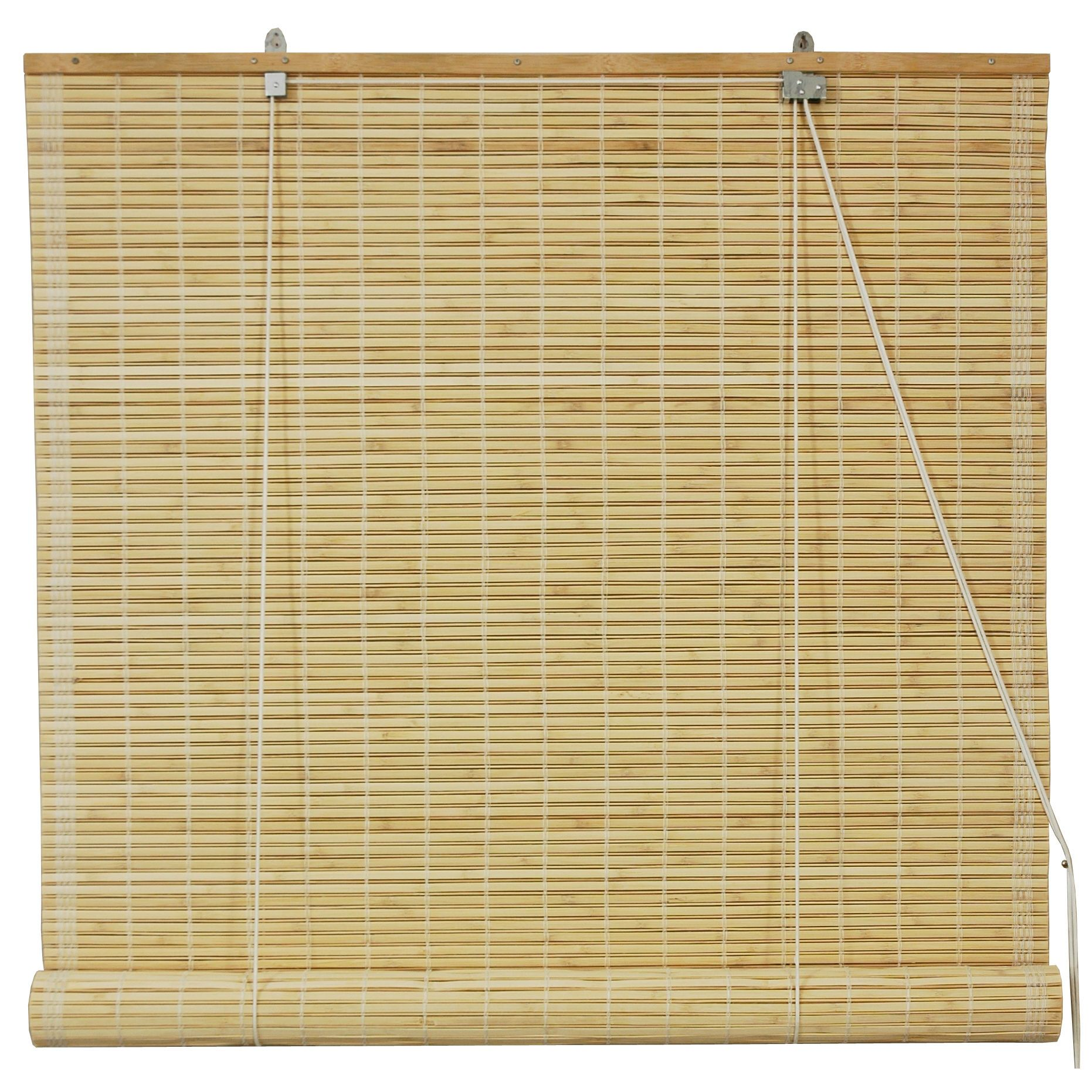 Oriental Furniture Bamboo Roll Up Blinds In Natural 72