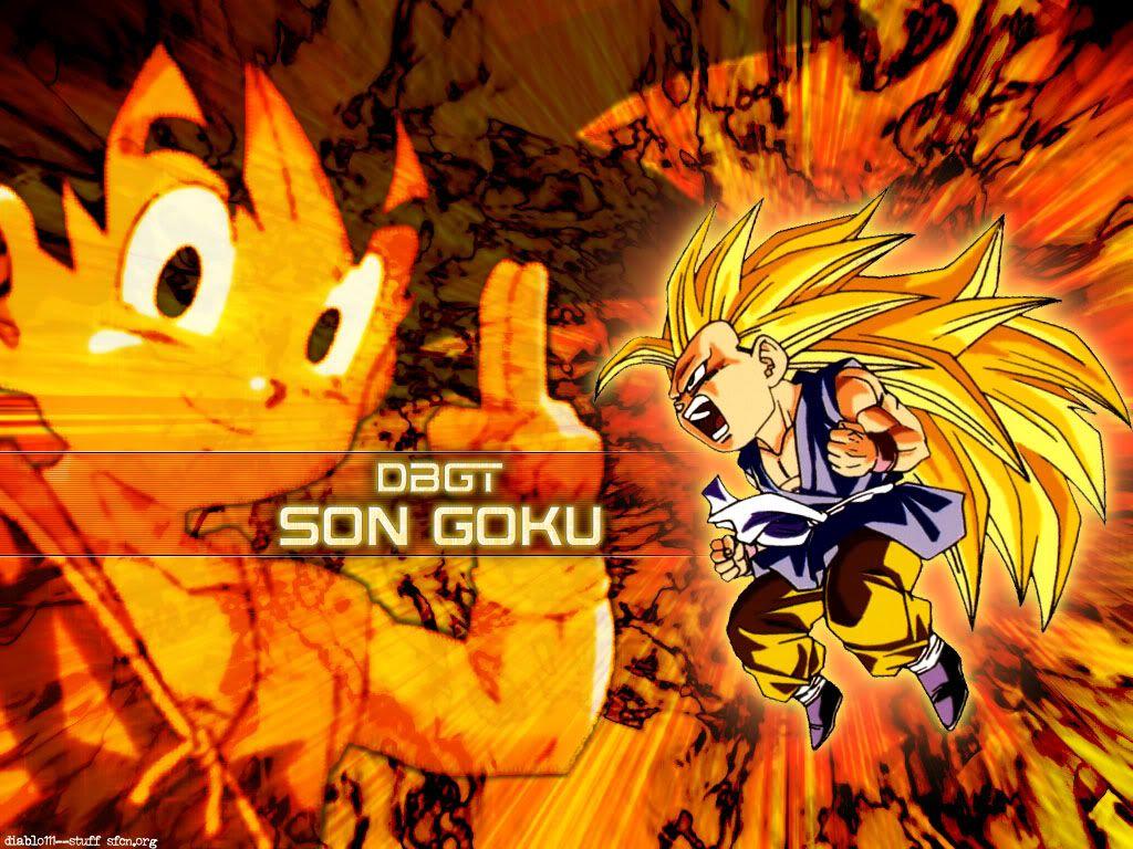 Goku SSJ3 Wallpaper by Pedroaf ...
