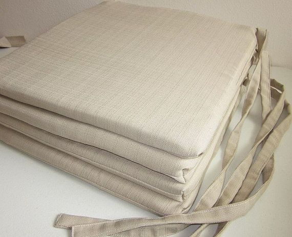 Chair Seat Cushion Covers Set Of 4 Richloom By DesignerPillows4U