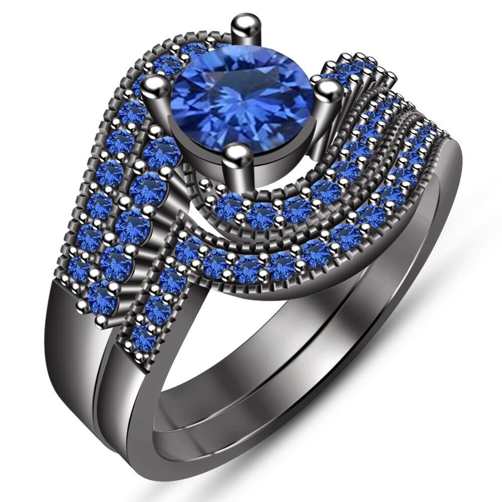 32++ Sapphire wedding ring sets information