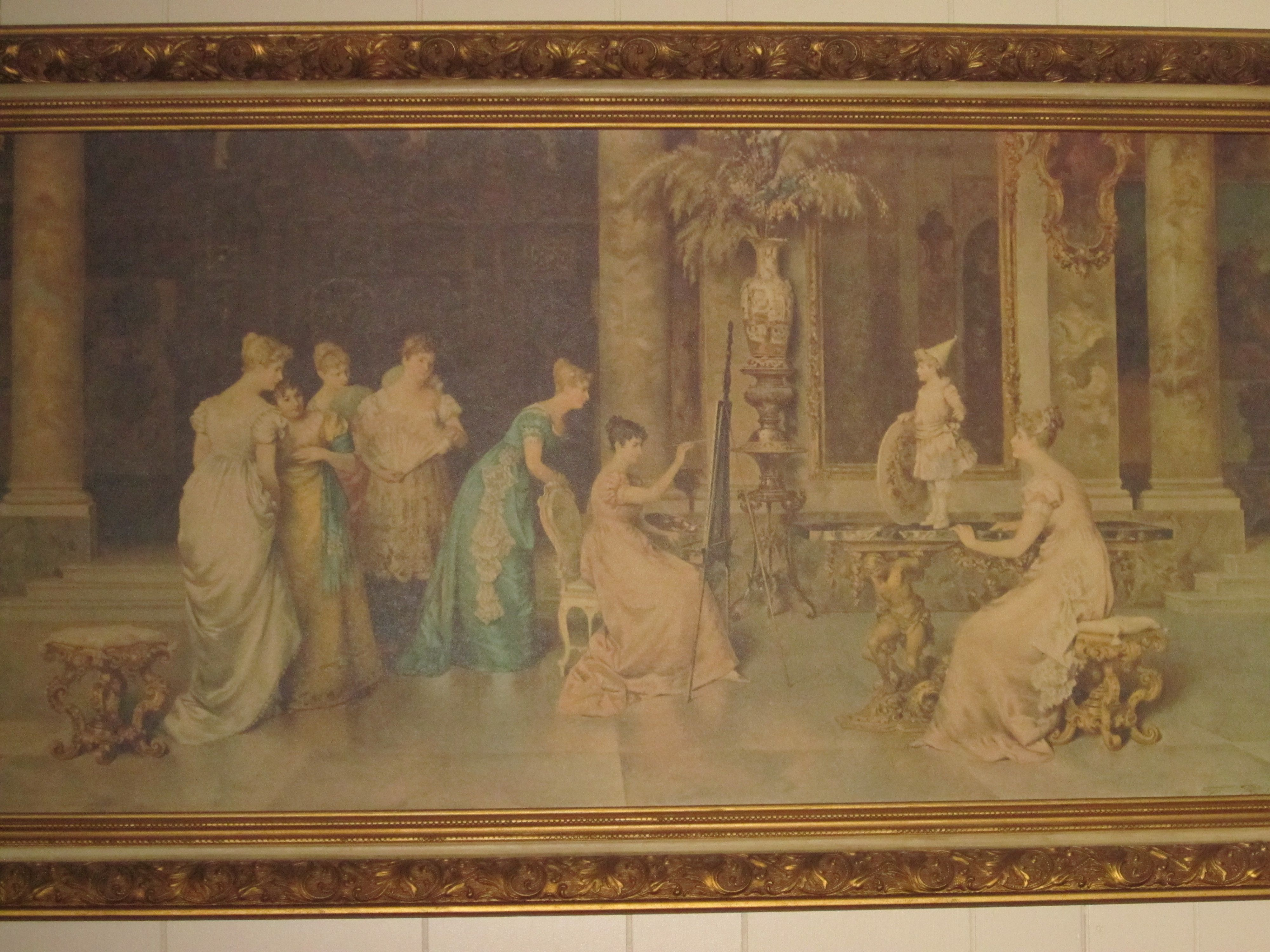 This Is The Painting That Hangs In My Livingroom It Is By Franceso