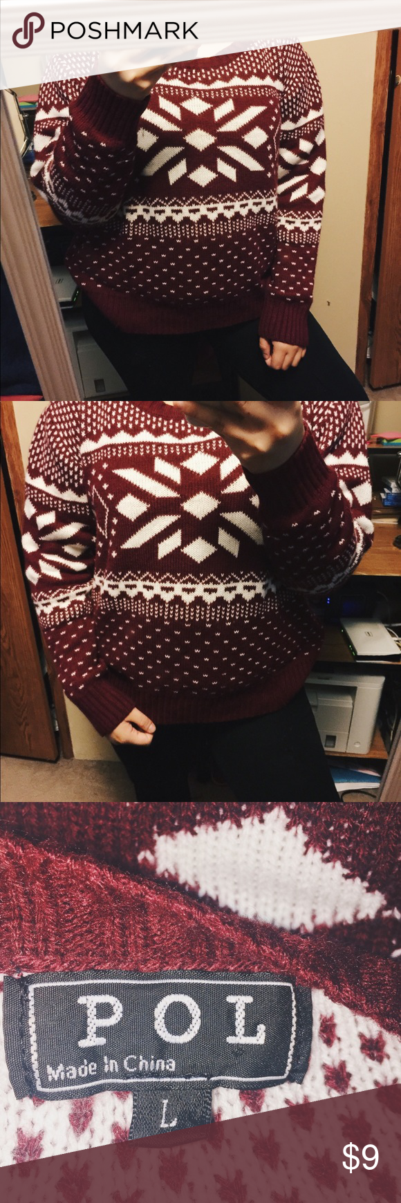18973d5c3ac Christmas Inspired Sweater No stains