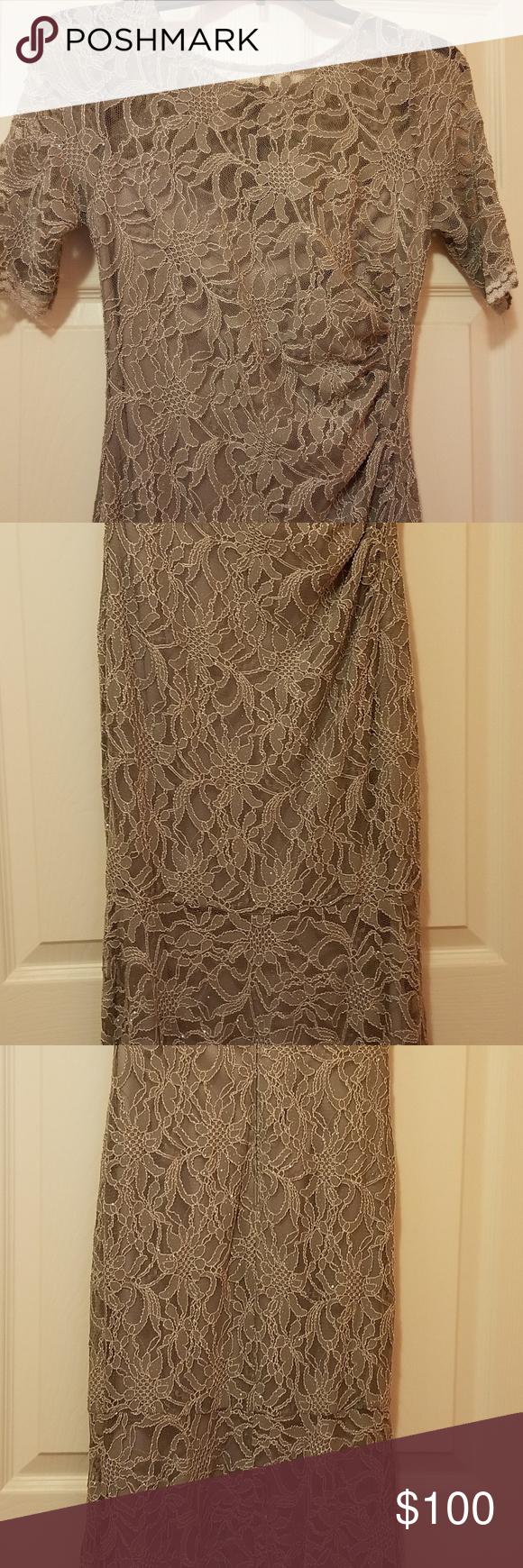 Womenus longsleeve formal dresses boutique colour gray xscape