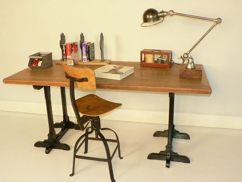 Idée un bureau sur tréteaux inspirations et une selection