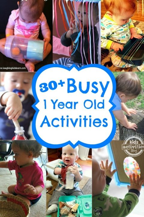 30 things to do with 1 year old in house