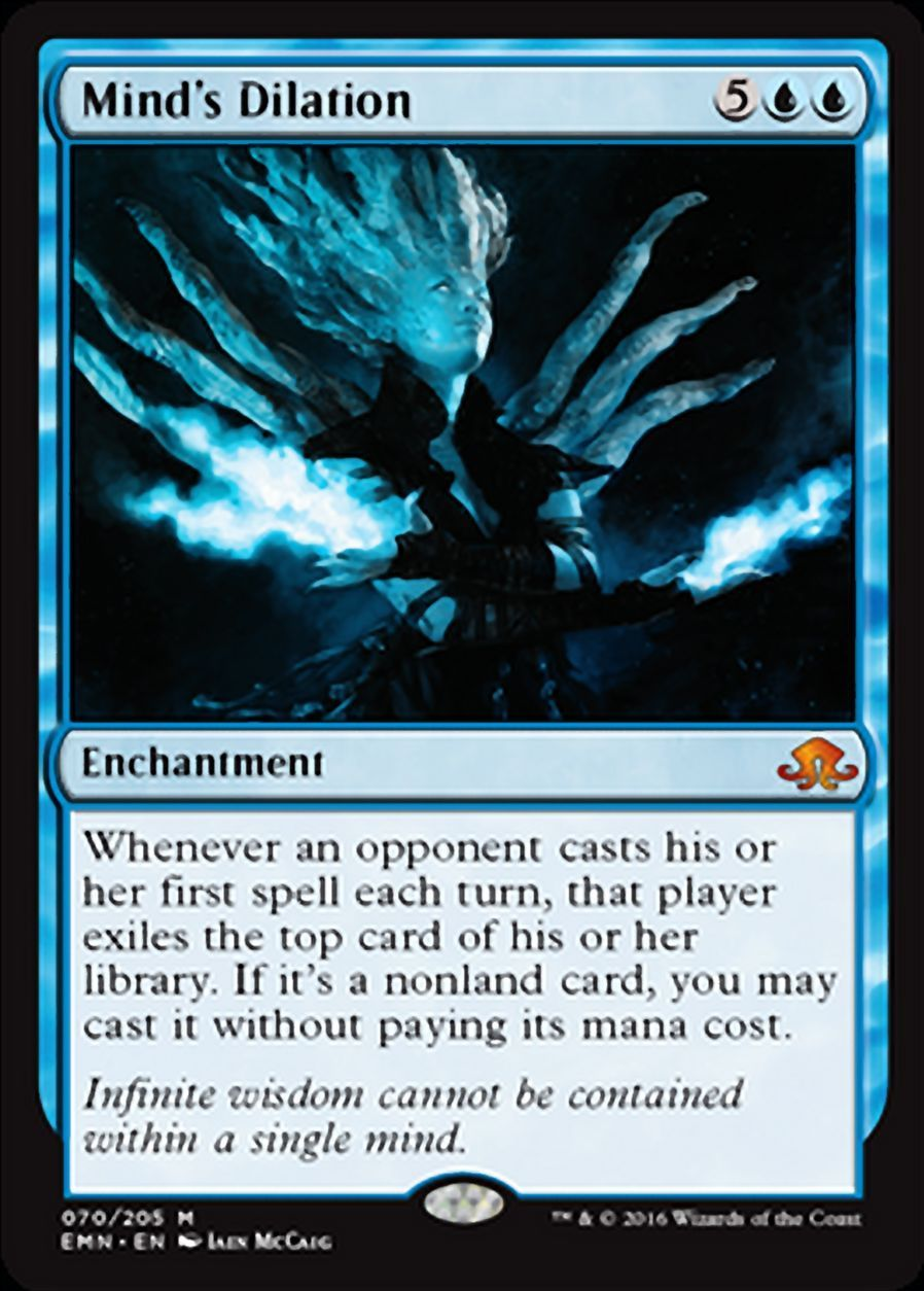 Gatecrash NM//M Blue EDH Commander Graveyard Turns Combo Diluvian Primordial