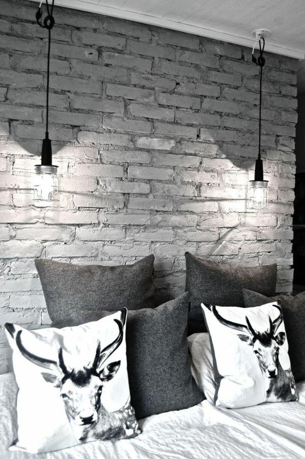 Bringen Sie die Kunst nach Hause durch tolle Wandgestaltung Graue - wandgestaltung mit drei farben
