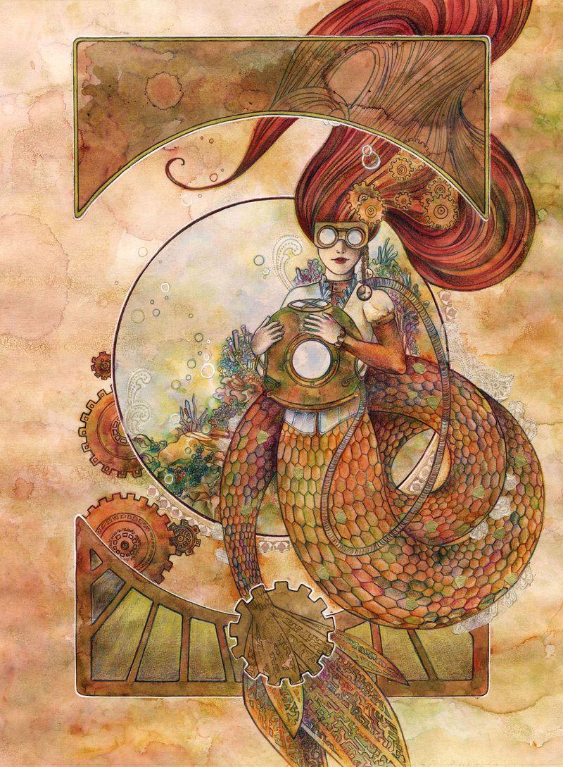 Steampunk Little Mermaid Pachecoclaire Disney